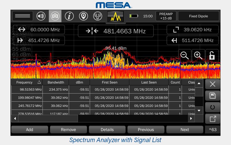 MESA-auto-signal-list-generation